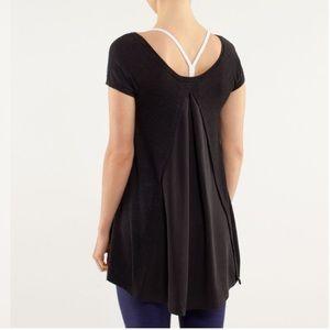Lululemon Be Me Tee Split Back Sweater Shirt